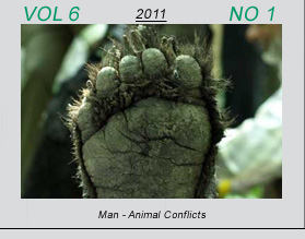 Vetscan Volume 6 No 1 | Man - Animal Conflicts
