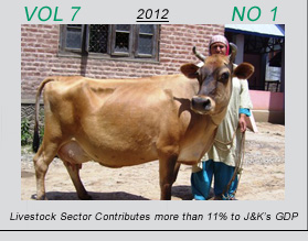 Vetscan Volume 6 No 2 | Livestock Sector Contributes more than 11% to J&K's GDP